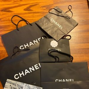 Accessories - Chanel shopping bags